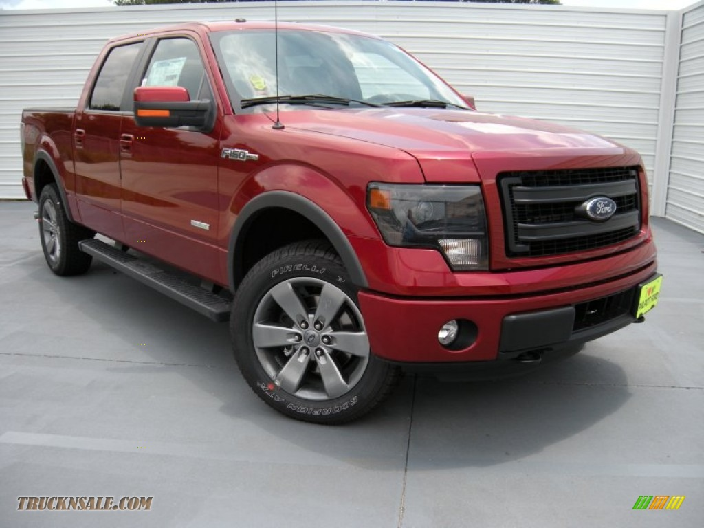 2014 ford f150 fx4 supercrew 4x4 in ruby red e81831 truck n 39 sale. Black Bedroom Furniture Sets. Home Design Ideas