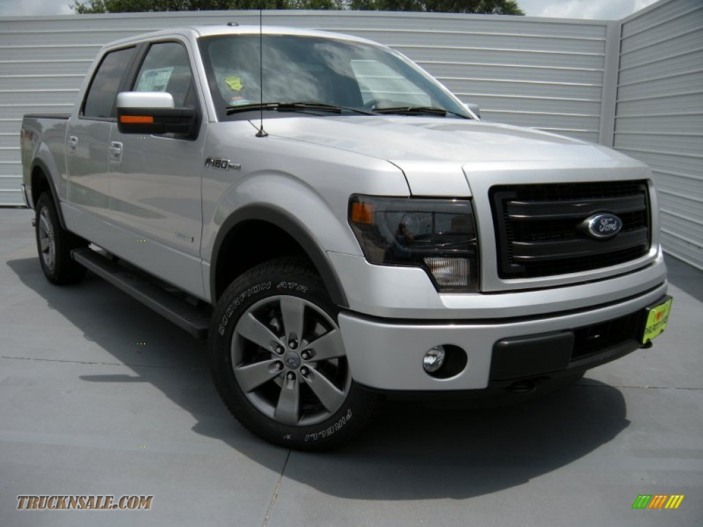 2014 ford f150 fx4 supercrew 4x4 in ingot silver e81830 truck n 39 sale. Black Bedroom Furniture Sets. Home Design Ideas