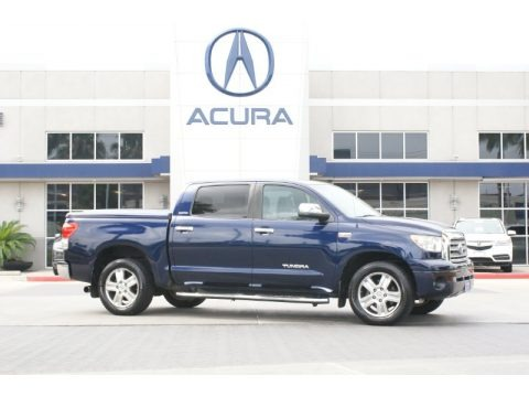 Nautical Blue Metallic 2008 Toyota Tundra Limited CrewMax