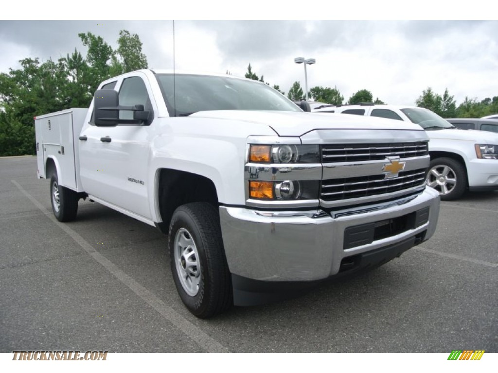 2015 chevrolet silverado 2500hd wt double cab utility in summit white 129651 truck n 39 sale. Black Bedroom Furniture Sets. Home Design Ideas