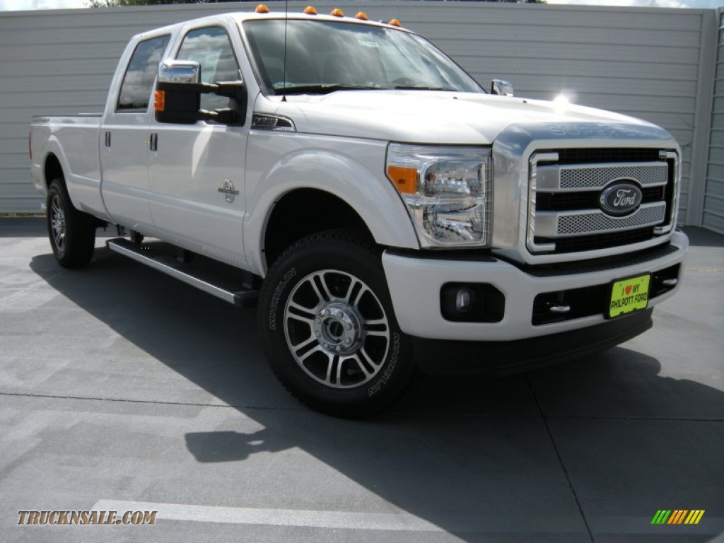 2015 ford f350 super duty platinum crew cab 4x4 in white platinum a86626 truck n 39 sale. Black Bedroom Furniture Sets. Home Design Ideas