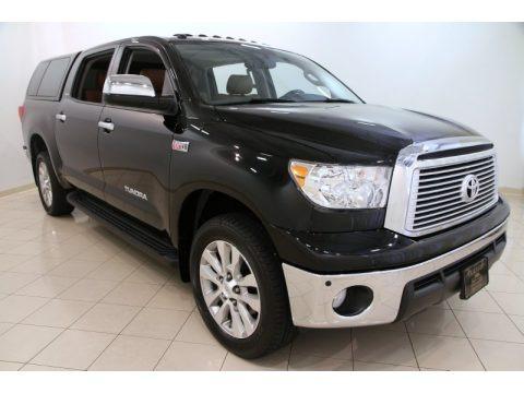 Black 2013 Toyota Tundra Platinum CrewMax 4x4