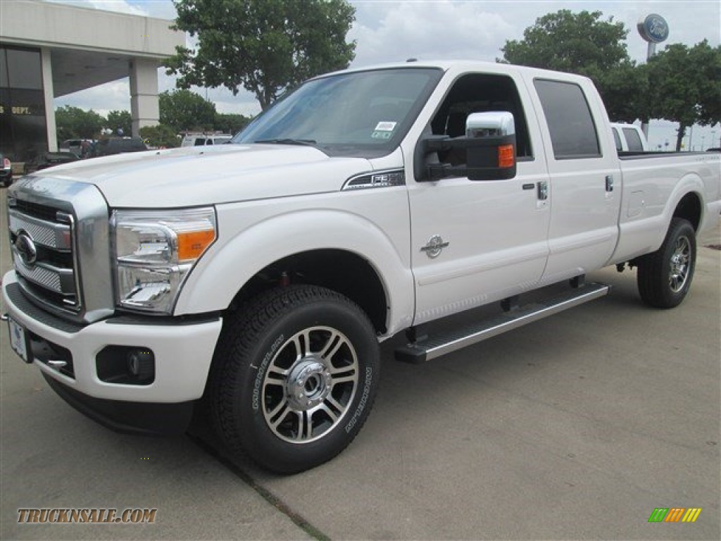 2015 ford f350 super duty platinum crew cab 4x4 in white platinum a94575 truck n 39 sale. Black Bedroom Furniture Sets. Home Design Ideas