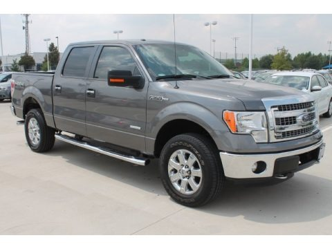 Sterling Gray Metallic 2013 Ford F150 Limited SuperCrew 4x4