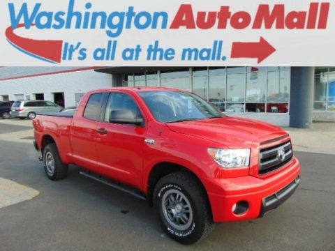 Radiant Red 2012 Toyota Tundra TRD Rock Warrior Double Cab 4x4