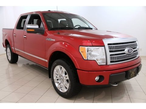 Red Candy Metallic 2012 Ford F150 Platinum SuperCrew 4x4