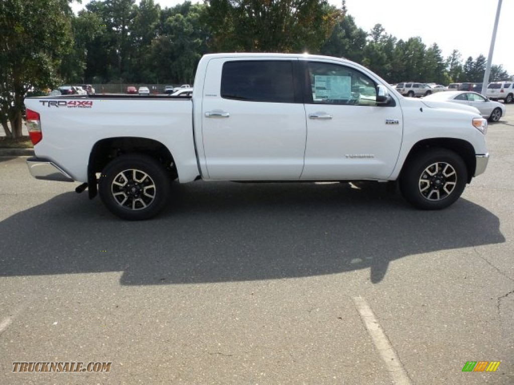 2015 toyota tundra limited crewmax 4x4 in super white 416217 truck n 39 sale. Black Bedroom Furniture Sets. Home Design Ideas