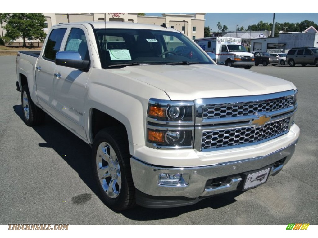 2014 chevrolet silverado 1500 ltz z71 crew cab 4x4 in white diamond tricoat 455343 truck n 39 sale. Black Bedroom Furniture Sets. Home Design Ideas