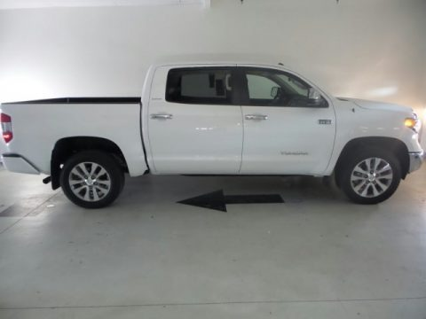 Super White 2015 Toyota Tundra Limited CrewMax 4x4