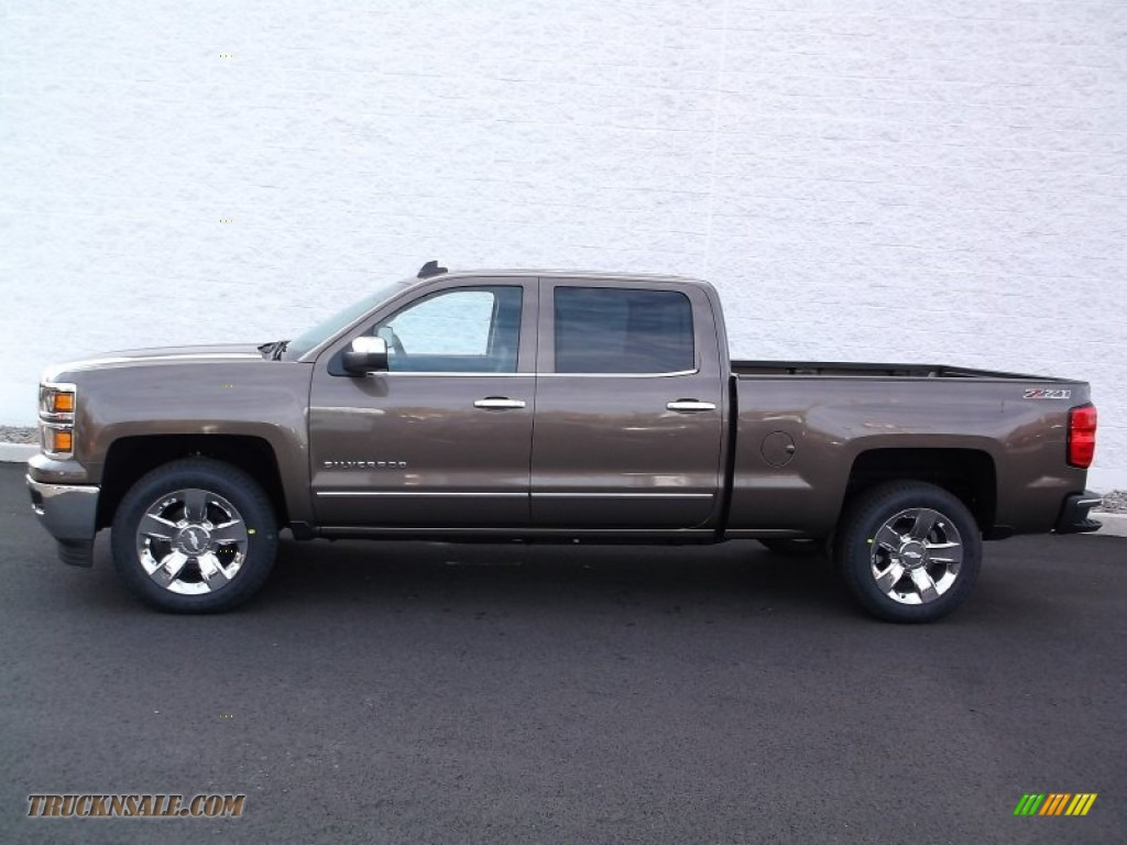 2015 chevrolet silverado 1500 lt z71 crew cab 4x4 in brownstone metallic photo 2 198439. Black Bedroom Furniture Sets. Home Design Ideas