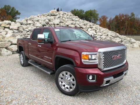 Sonoma Red Metallic 2015 GMC Sierra 2500HD Denali Crew Cab 4x4