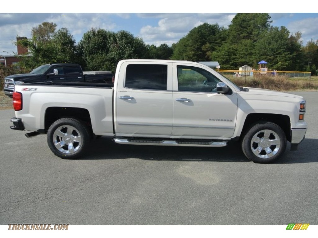 2015 chevrolet silverado 1500 ltz z71 crew cab 4x4 in white diamond tricoat photo 6 138586. Black Bedroom Furniture Sets. Home Design Ideas