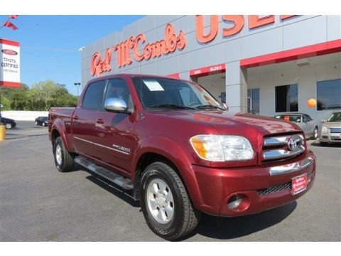 Salsa Red Pearl 2005 Toyota Tundra SR5 Double Cab