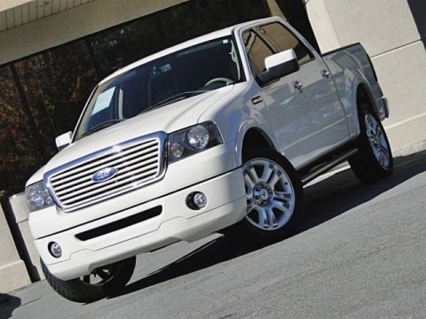 White Sand Tri-Coat 2008 Ford F150 Limited SuperCrew 4x4