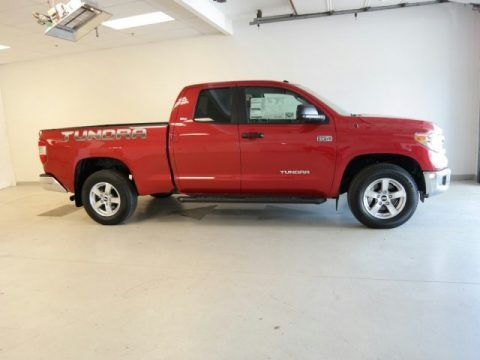 Radiant Red 2015 Toyota Tundra SR5 Double Cab