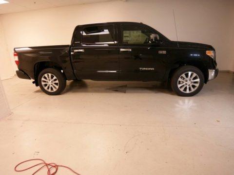 Black 2015 Toyota Tundra Limited CrewMax 4x4