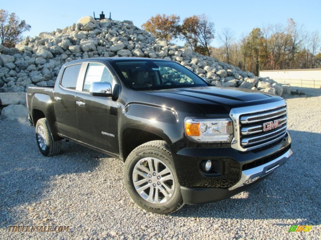 2015 gmc canyon slt crew cab 4x4 in onyx black