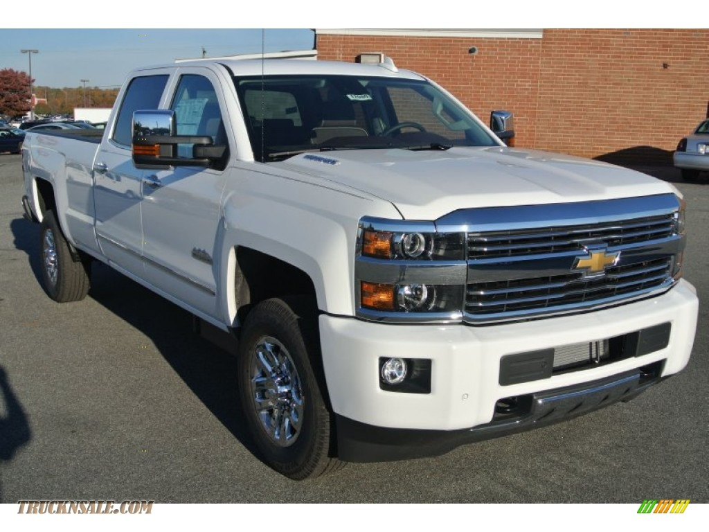 2015 chevrolet silverado 3500hd high country crew cab 4x4 in summit white 508731 truck n 39 sale. Black Bedroom Furniture Sets. Home Design Ideas