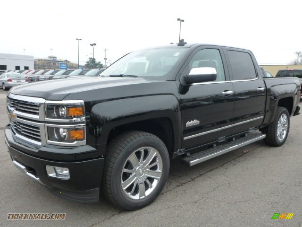 2015 chevrolet silverado 1500 high country crew cab 4x4 in black 179973 truck n 39 sale. Black Bedroom Furniture Sets. Home Design Ideas