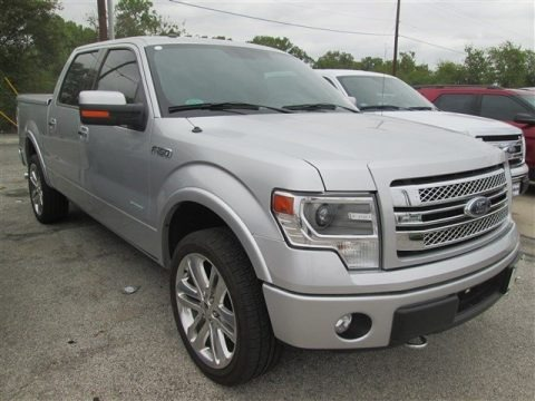 Ingot Silver 2014 Ford F150 Limited SuperCrew 4x4