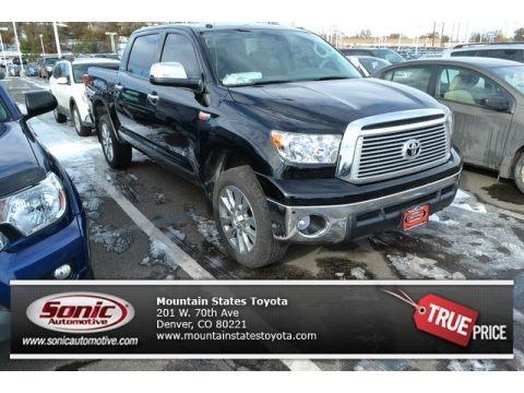Magnetic Gray Metallic 2013 Toyota Tundra Platinum CrewMax 4x4