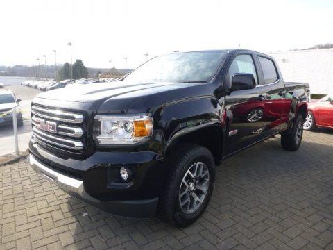 gmc canyon sle crew cab 4x4 trucks for sale truck n 39 sale. Black Bedroom Furniture Sets. Home Design Ideas