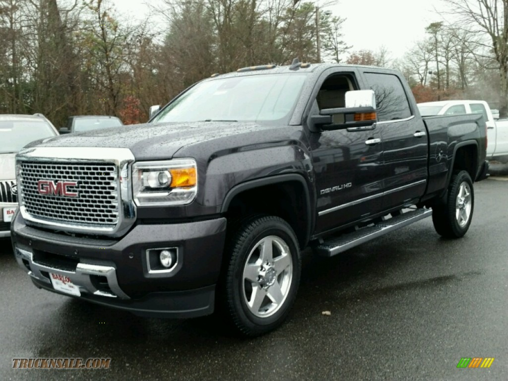 2015 gmc sierra 2500hd denali crew cab 4x4 in iridium metallic 535924 truck n 39 sale. Black Bedroom Furniture Sets. Home Design Ideas