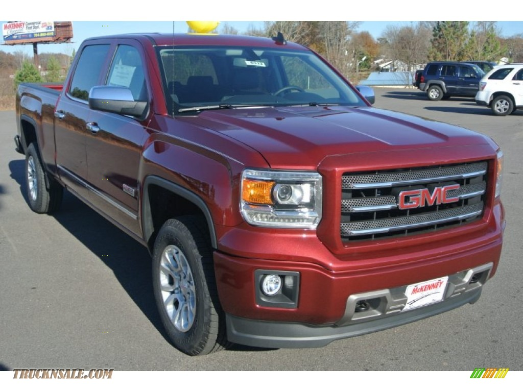 2015 gmc sierra 1500 sle crew cab 4x4 in sonoma red metallic 176927 truck n 39 sale. Black Bedroom Furniture Sets. Home Design Ideas