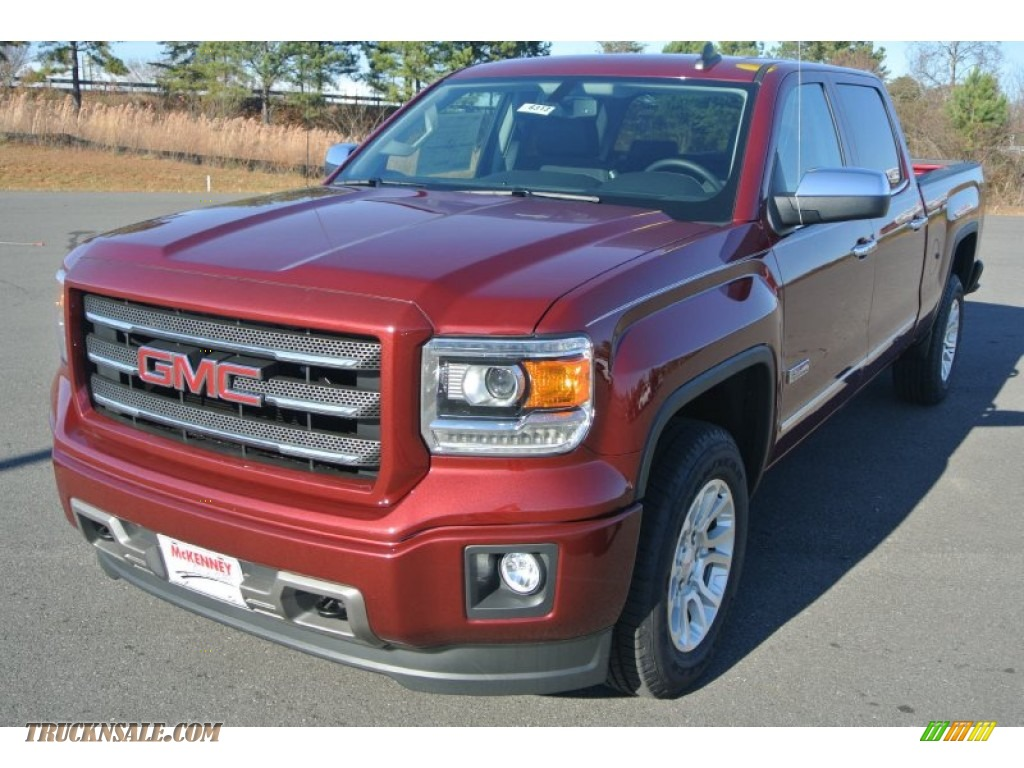 2015 gmc sierra 1500 sle crew cab 4x4 in sonoma red metallic photo 2 176927 truck n 39 sale. Black Bedroom Furniture Sets. Home Design Ideas