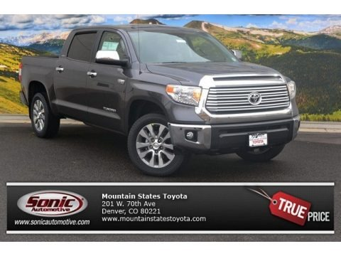 Magnetic Gray Metallic 2015 Toyota Tundra Limited CrewMax 4x4