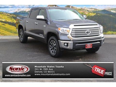 Magnetic Gray Metallic 2014 Toyota Tundra Limited Crewmax 4x4
