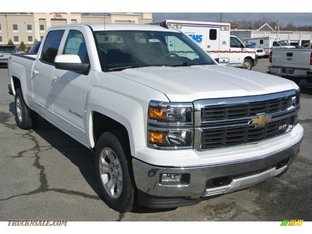 2015 chevrolet silverado 1500 lt z71 crew cab 4x4 in summit white 198097 truck n 39 sale. Black Bedroom Furniture Sets. Home Design Ideas