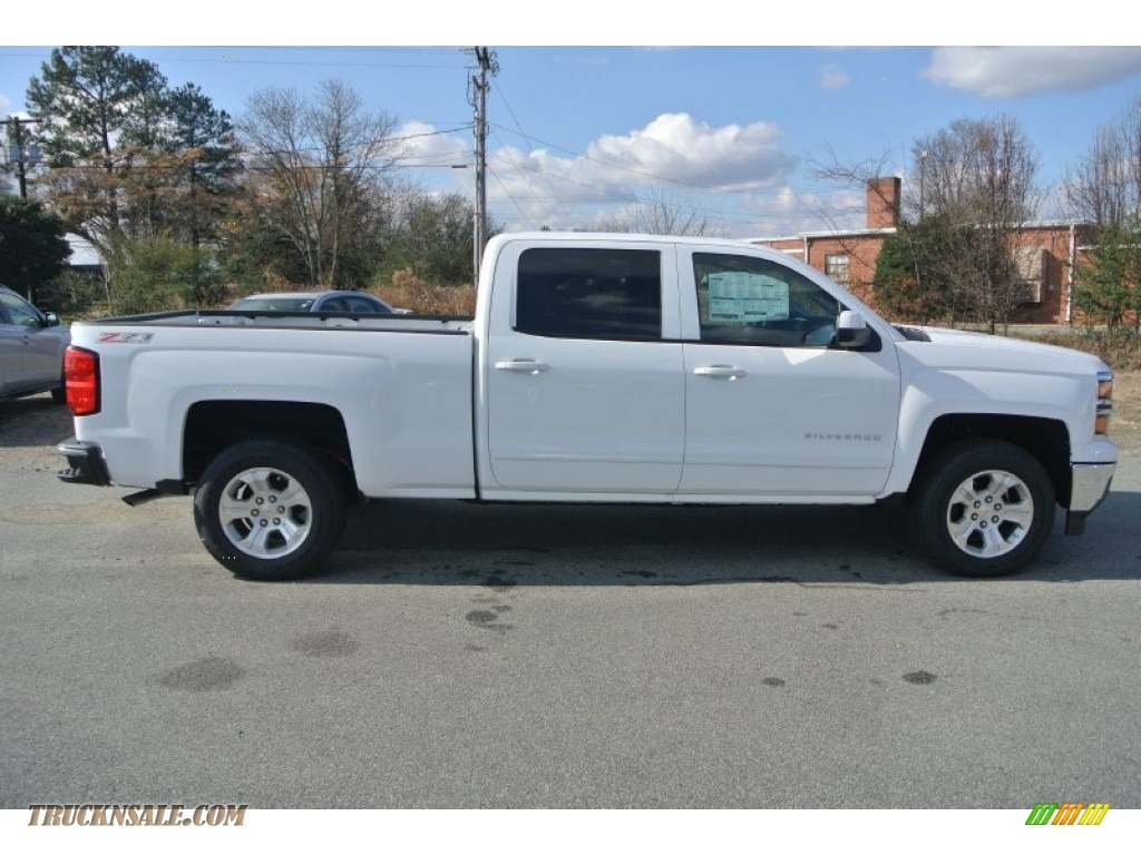 2015 chevrolet silverado 1500 lt z71 crew cab 4x4 in summit white photo 6 198097 truck n 39 sale. Black Bedroom Furniture Sets. Home Design Ideas