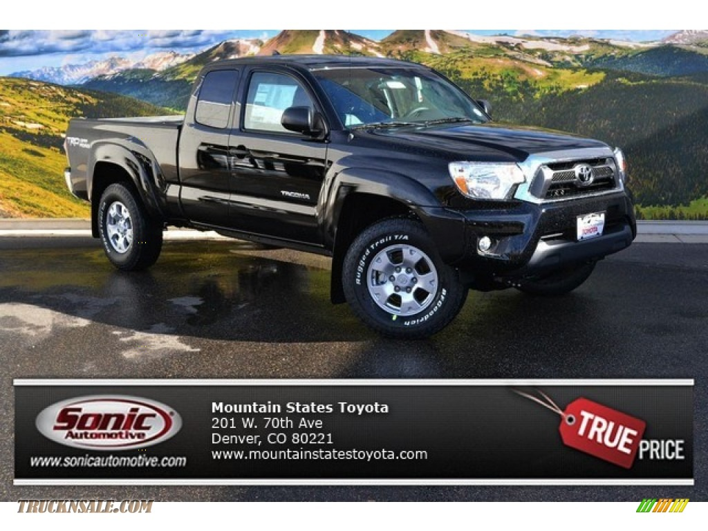 2015 toyota tacoma v6 access cab 4x4 in black 121004 truck n 39 sale. Black Bedroom Furniture Sets. Home Design Ideas