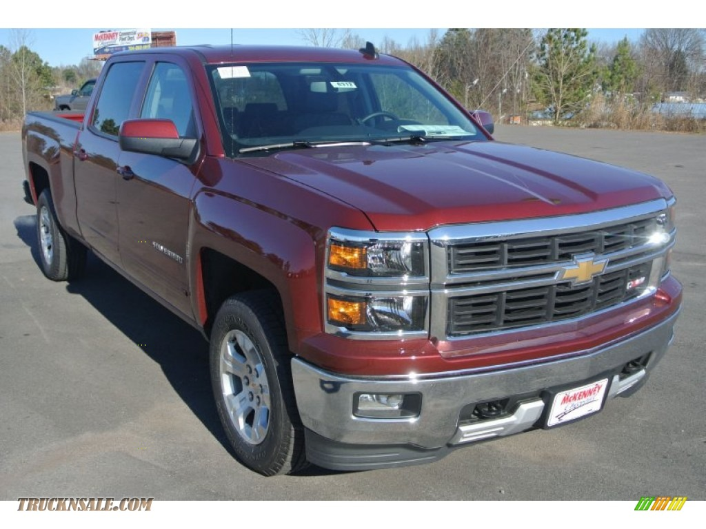 2015 chevrolet silverado 1500 lt z71 crew cab 4x4 in deep ruby metallic 198597 truck n 39 sale. Black Bedroom Furniture Sets. Home Design Ideas